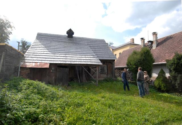Setkání k obnově domu 2015/09/25 (Tomáš Efler, Michal Buše, Jiří Syrový).